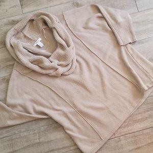 Style & Co🎉 Cowl beige sweater! Sz XL
